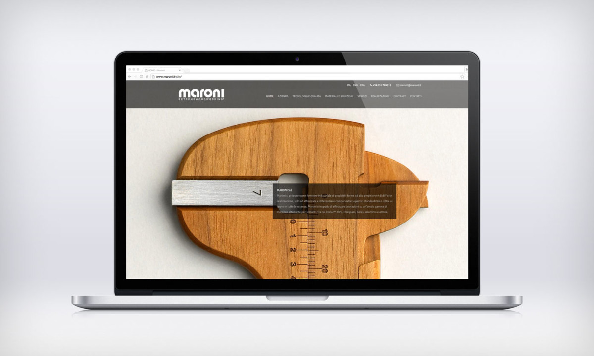 maroni-website